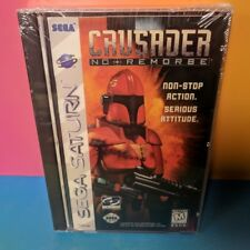 Crusader No Remorse (Sega Saturn, 1996) BRAND NEW Factory Sealed