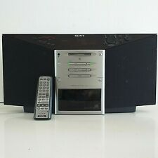 More details for sony zs-m7 personal md system minidisc/cd/radio with remote fully working - rare
