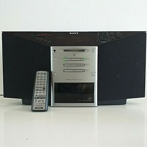 Sony ZS-M7 Personal MD System Minidisc/CD/Radio with Remote Fully Working - RARE