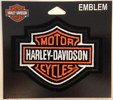 9491 HARLEY DAVIDSON BAR & SHIELD SMALL SEW ON CLOTH PATCH MOTORCYCLE
