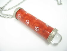 Red Plum - Arita Ware Teleidoscope Necklace