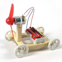 DIY Wind Strength Car Model Assembled Toy Kit Children Educational Toy Gift NR3C
