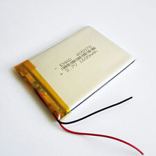 3.7V LiPo Polymer 1600mAh Battery 405070 Cell For MP4 PSP GPS DVD Camera Speaker