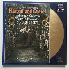 "Humperdinck   ""Hänsel und Gretel""   PAL   LASERDISC still sealed"
