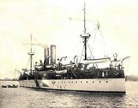 1898 Photo USS Maine in Havana Harbor, Shortly before Explosion  8x10 Photo
