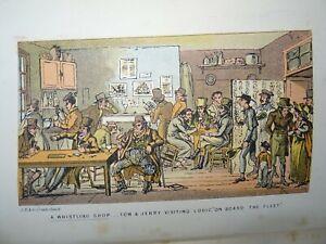 1869 TOM & JERRY LIFE IN LONDON by PIERCE EGAN 36 COL PLTS BY I R & G CRUIKSHANK