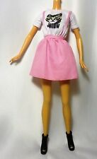 Mattel 2015 barbie fashionistas doll 10 kitty meow outfit