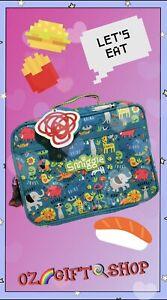 Smiggle Animal Kingdom Lunch Box With Strap - Brand New