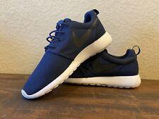 Nike Roshe One Roshe Run Shoes: (Men's Sz 12) 511881-405 *Navy Blue Black White*