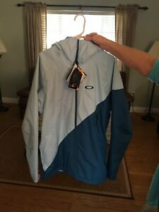 NWT Oakley Jacket 10k Insulated Color Block Mens Large Snow Ski Snowboarding
