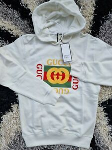 Gucci Hoodie New Men's Cotton Made In Italy   Fast Shipping Clasicc