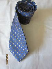Nick Hilton Blue Silk Neck Tie