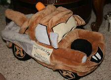 "Disney Pixar Cars Tow Mater Microbead Pillow Tow Truck Plush Toy 16""     j1"