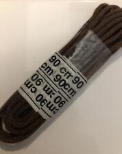 paire de lacets marron 90 cm