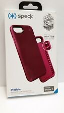 SPECK PRESIDIO IPHONE 7 8 PURPLE IMPACTUM HYBRID CASE USA SELLER