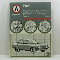 Autobooks Owners Workshop Manual (No 991) - Morris Ital  1980 - 1982