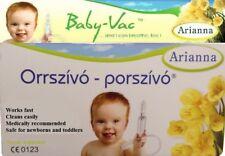 Arianna Baby Vac Orrszívó Porszívó Infant Child Vacuum Nasal Aspirator