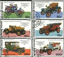 Togo 1221A-1226A (kompl.Ausgabe) gestempelt 1977 Geburtstag v. L. Renault EUR 2,