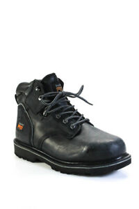 Timberland Mens Pro Steel Toe Work Boots Black Size 10.5W