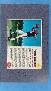 1962 Post #184 FRANCIS FRAN TARKENTON RC Minnesota Vikings VG ~MR21