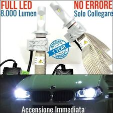 Kit Anabbaglianti LED H7 BMW X3 e83 m CANBUS 6500K lampade luci BIANCO GHIACCIO