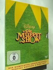 Muppet Show DVD Komplette Staffel 1 Disney 4 Disc Set Neuwertig Sammlung