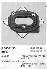 Bride souple (embase) pour carburateur Pierburg  2E-E - Golf - Passat - Audi