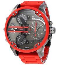Cronografo Diesel DZ7370 Mister Daddy 2.0 orologio 4 Tempi acciao rosso nuovo ✔️