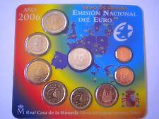 EUROSET ESPAÑA - AÑO 2006 - TODOS LOS VALORES EN EUROS - Sin Circular