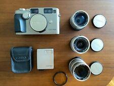 [Near MINT] Contax G2 D 35mm Film Camera +T* 28mm 45mm 90mm 3Lens + TLA140 JAPAN