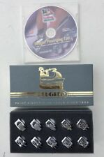New Beugler Profesional Pinstriping 10 Wheelhead set Tool Kit  and DVD