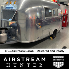 1963 Airstream Bambi - The Coveted Classic Restored and Ready