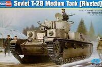 Hobbyboss 1:35 T-28 (Riveted) Soviet Medium Tank Model Kit