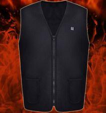 AU Men's Women Heated Vest Jacket Electric Heating Winter Warmer Coat Heater