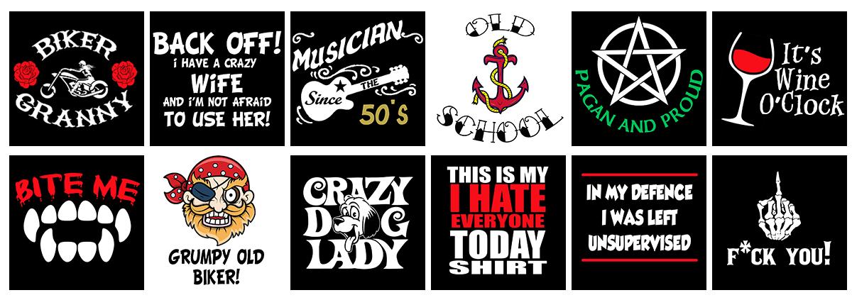 funny t-shirts, slogan hoodies
