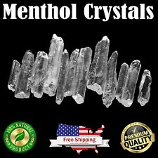 MENTHOL CRYSTALS Bulk 5 lbs. 100% PURE Mentha Arvensis USP Food Grade Natural