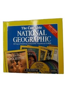 National Geographic Magazine 110 Years 31 CD-ROM Set used