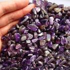 50g Natural Amethyst Raw Smooth Gravel Crystal Degaussing Stone Healing Specimen