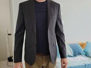 Calvin Klein Mens Suit Jacket - Excellent Condition - Size 50 - 100% wool