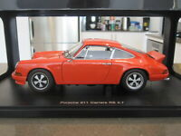 1:18 AUTOART 78057 PORSCHE 911 CARRERA RS 2.7 1973 ORANGE *NEW*