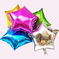 48cm Foil Star Love Shape Helium Balloons Birthday Party Wedding Decoration CXF