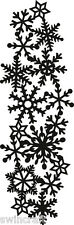 Marianne CRAFTABLES Cutting & Embossing Die ICE CRYSTALS BORDER CR1346