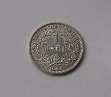 KAISERREICH: 1 Mark 1909 D, J. 17, prägefrisch/unc.