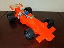"1970's Vintage Sunoco Indy Formula 1 Race Car plastic 10"" Toy Gay Toys Rare!"