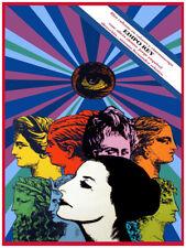 Movie Poster for film Edipo Rey.Alicia Alonso Ballet.Dance.Room art decor design