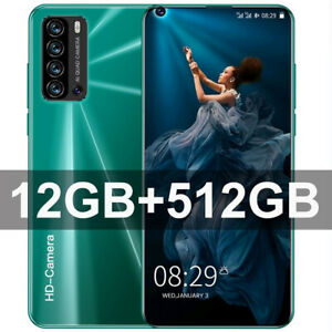 Galaxy S21+ Ultra 7.3 Inch Smart phone 4G/5G Unlock 24MP+48MP 12GB+512GB 5600mAh