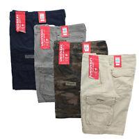 Unionbay Cargo Shorts Mens Quest Flex Waist 8 Pocket Cotton Comfort Short