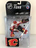 McFarlane Grant Fuhr Calgary Flames NHL Goalie Figure - New Unopened