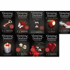L J Smith - Vampire Diaries Series 1-11 (9 Books Collection set)