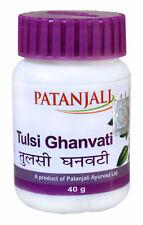 Patanjali Ayurvedic TULSI GHAN VATI Beneficial in cold, mild fever 40gm Tablets